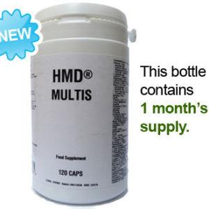 HMD MULTI'S (120 CAPSULES)