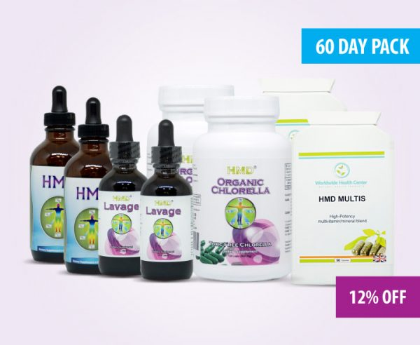 60 day super ultimate detox pack
