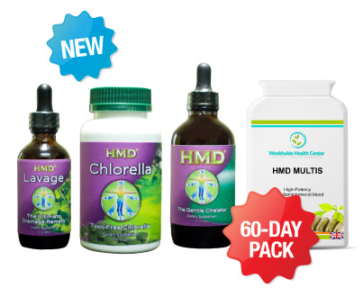 60-DAY SUPER ULTIMATE DETOX PACK - 2 months supply