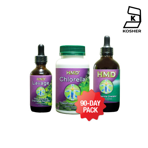 90 Day HMD™ Ultimate Detox Pack - 3 months supply