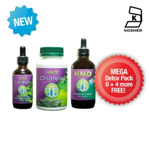 HMD™ MEGA DETOX PACK (30 bottle pack)