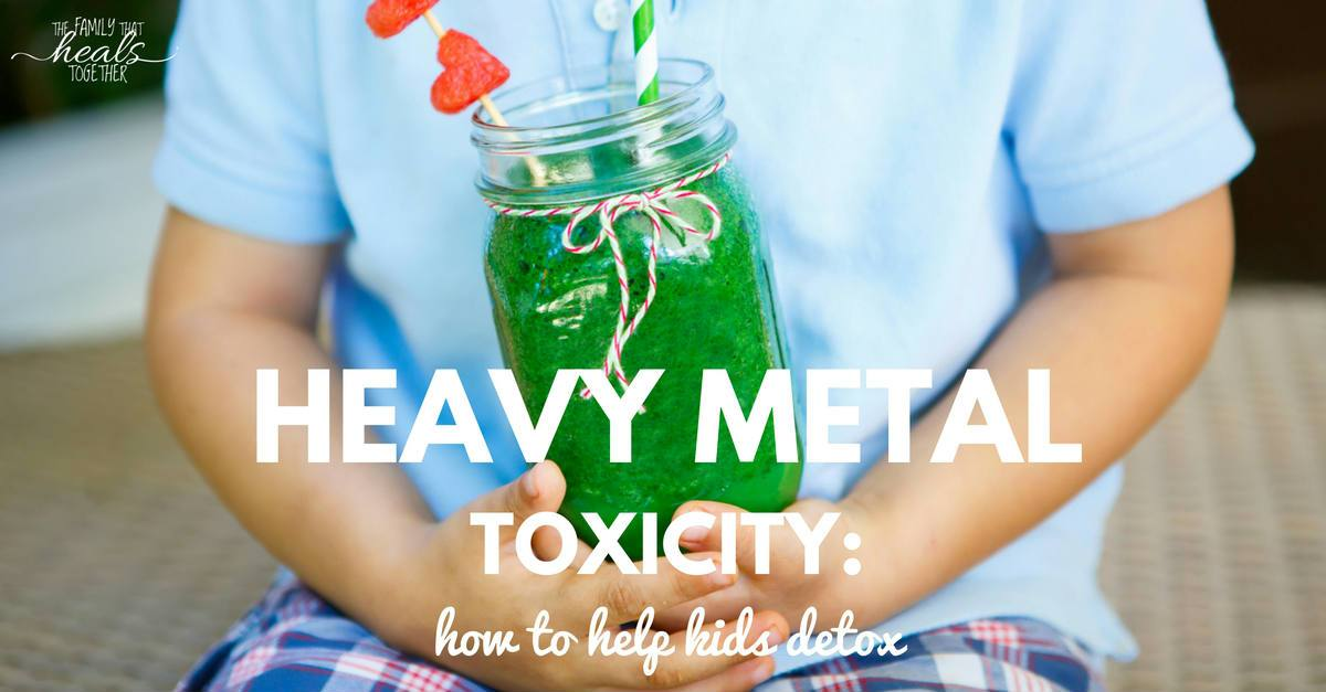 removing heavy metals body