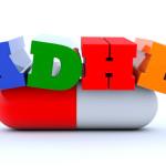 3d text ADHD disorder