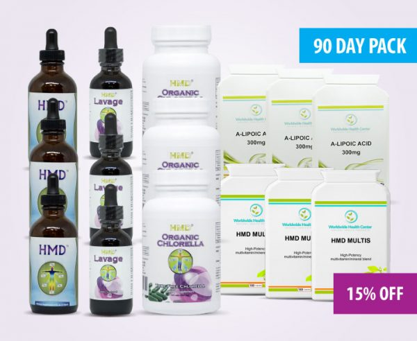 HMD 90-Day Super Antioxidant Pack