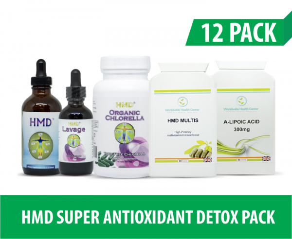 12 PACK HMD SUPER ANTIOXIDANT PACK