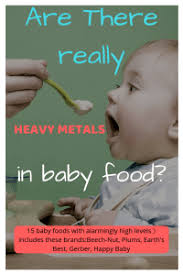 metals in baby food
