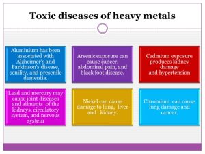 toxic effects of heavy metals