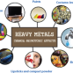 Toxic Effects of Heavy Metals How do heavy metals get into our food chain? The main route is through human activities such as industrial and agricultural processes. The 5 metals of particular concern in relation to harmful effects on health are mercury, lead, cadmium, tin and arsenic, but there are others too. The toxicity of […]